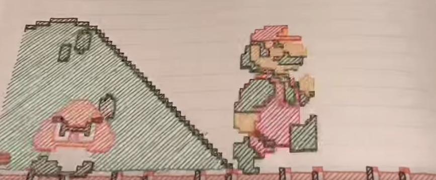 Stop Motion Mario Bros.