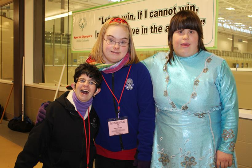 Special Olympics BC figure skaters at the 2011 SOBC Ice Sport Championships