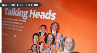 Talking Heads - Words matter. Explore how major parties use different words to shape key issues in Parliament.