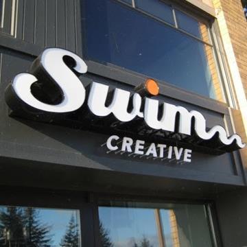 Swim creative logo