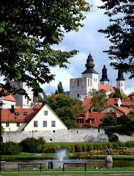 A Medieval Town with a Great of a Medieval Festival