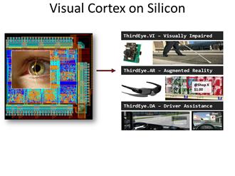 Credit: Vijaykrishnan Narayanan, Penn State and members of Visual Cortex on Silicon Team