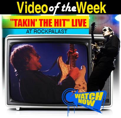 Joe Bonamassa Video of the Week. Joe Bonamassa performs 'Takin' the Hit' Live at Rockpalast. Click here to watch it now!