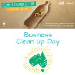 Clean Up Australia 2019