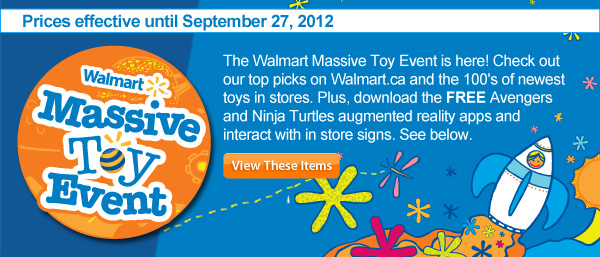 Walmart Massive Toy Event
