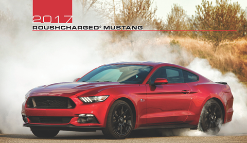 2017 ROUSH Mustangs
