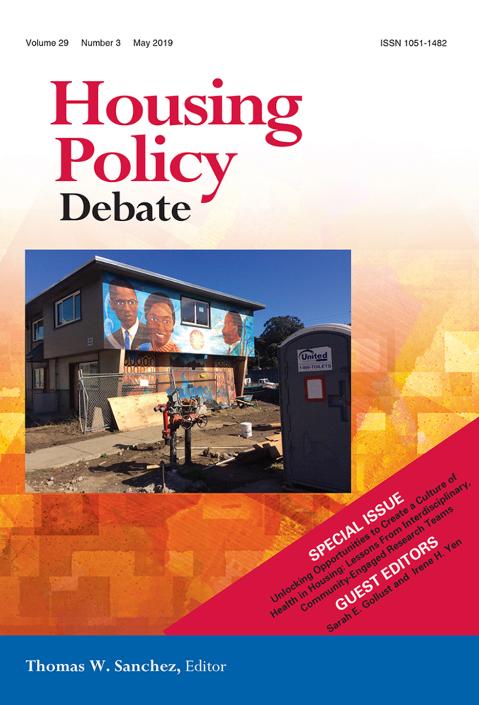 Image: Journal of Housing Policy Debate