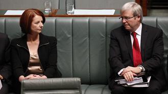 Rudd and Gillard