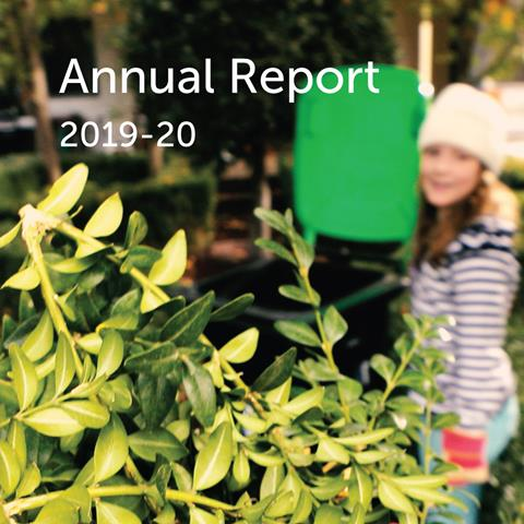 Cover of MWRRG Annual Report