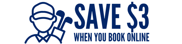 Save $3 when you book online.
