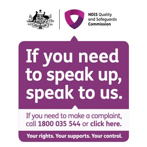If you need to speak up, speak to us