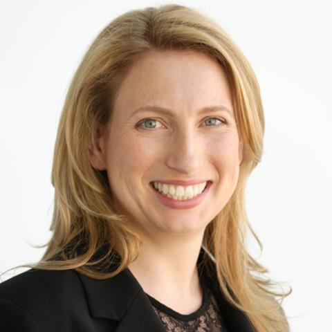 Photo of Jill Riseley, person with straight blond hair smiling