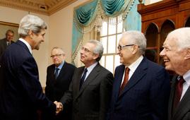 The Elders meet John Kerry