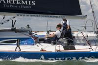 Crew onboard artemis figaro