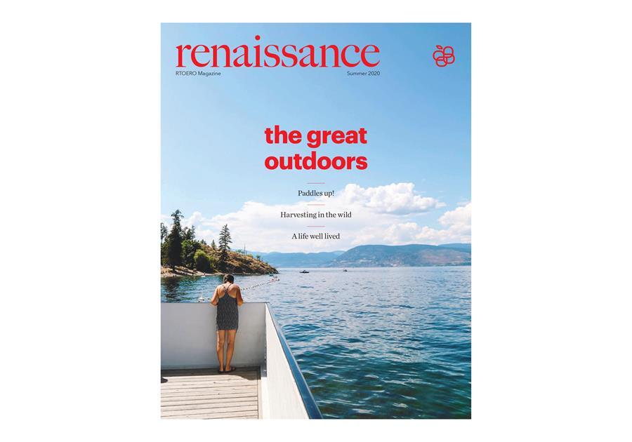 Cover of Renaissance magazine, Summer 2020.