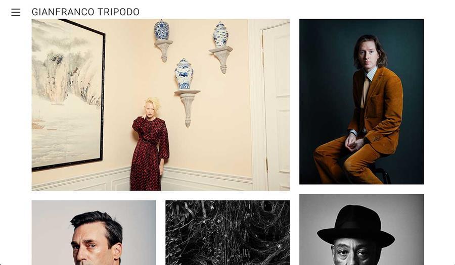 Gianfranco Tripodo Website