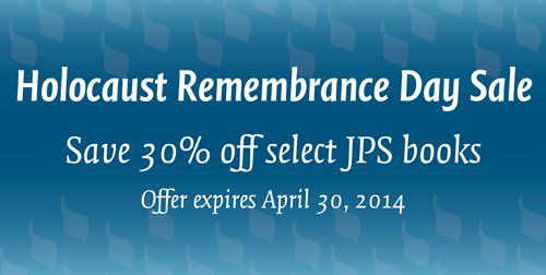 Holocaust Remembrance Day Book Sale