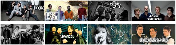 Sonicangel bands