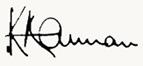 Kofi Annan signature