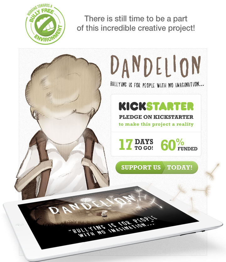 Pledge on Kickstarter