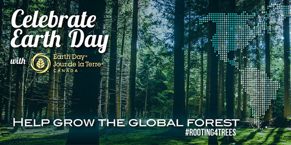 Celebrate Earth Day - Help grow the global forest