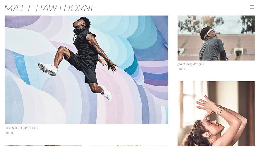 PhotoFolio Client Matt Hawthorne