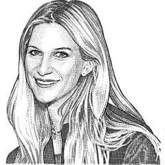 Kristina O'Neill hedcut.