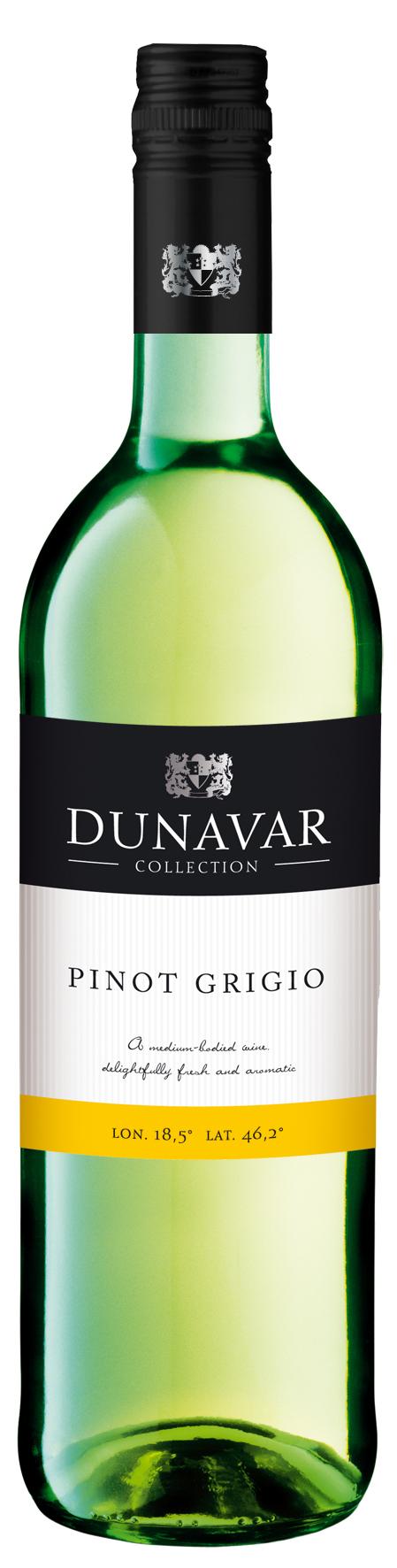 RDunavar Pinot Grigio 2015, Felső-Magyarország, Hungary